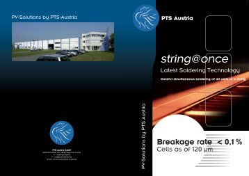 PTS Austria - Production Technology Systems