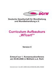 "Curriculum Aufbaukurs ""WTcert®"" - Deutsche Gesellschaft für ..."