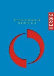 Das Frühjahrsprogramm 2013 des HERBiG Verlags - Langen Müller ...