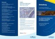 Einladung & Programm der Fortbildung - URGO GmbH