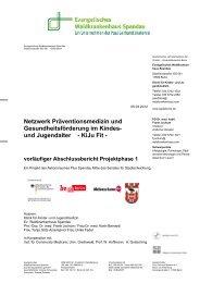 KiJu Fit - vorläufiger Abschlussbericht Projektphase 1
