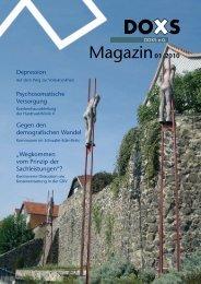 Magazin 01/2010 - bei den Doxs