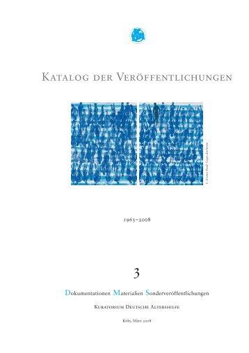 Farbe ins Heim - Kuratorium Deutsche Altershilfe