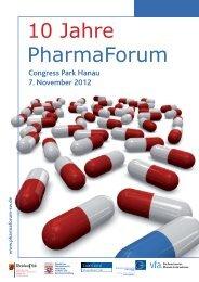 Tagungsband - Pharmaforum