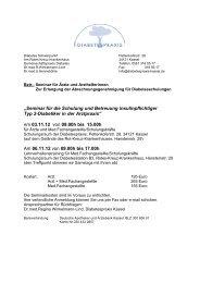 insulinpfl. - Diabetespraxis - Kassel
