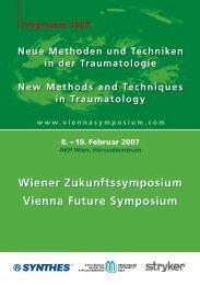 Vollständiges Programm zum Download - Vienna Future Symposium