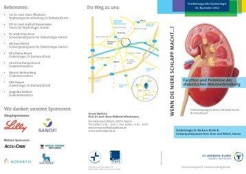 Programm - St. Barbara-Klinik Hamm-Heessen GmbH