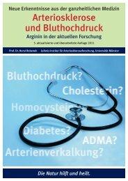Arteriosklerose und Bluthochdruck - Portal Naturheilkunde