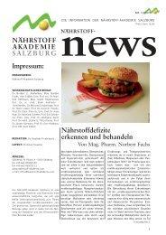 Artikel zum Downloaden - Nährstoff-Akademie