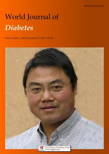 World Journal of Diabetes - World Journal of Gastroenterology