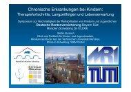 Vortrag von Prof. Dr. Burdach als pdf - Kinderklinik und Poliklinik der ...