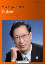 World Journal of Diabetes - World Journal of Gastroenterology