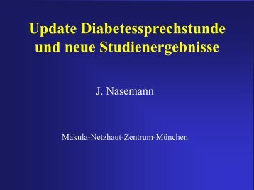 Angiographie bei Diabetes
