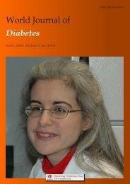 Acknowledgments to reviewers of World Journal of Diabetes