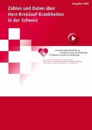 Zahlen und Daten 2004 - Schweizerische Herzstiftung