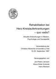 Rehabilitation bei Herz-Kreislauf-erkrankungen