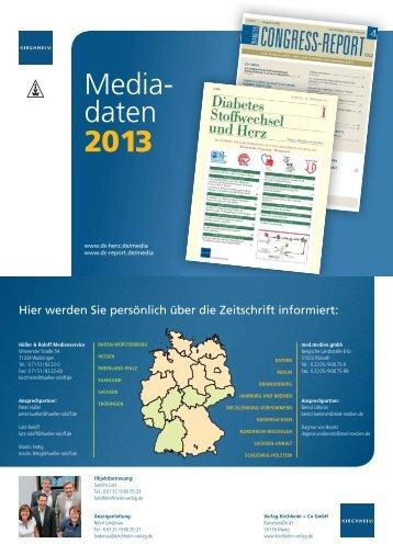 Media- daten 2012 Media- daten 2013 - Kirchheim-Verlag