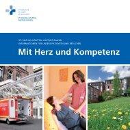 Mit Herz und Kompetenz - St. Rochus-Hospital Castrop-Rauxel