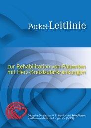 Pocket Leitlinie DGPR - Deutsche Gesellschaft für Prävention und ...