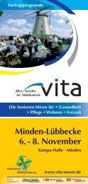 Minden-Lübbecke 6. – 8. November - Altes Hallenbad Hameln