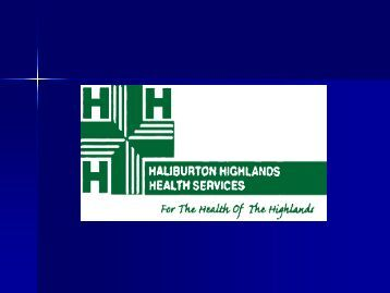 Role of Small Hospitals in Ontario - Central East Local Health ...