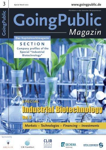 Industrial Biotechnology 2012 - Bcnp-consultants.com