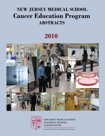 Abstract cover - NJMS-UH Cancer Center