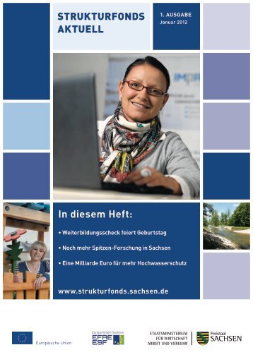 strUktUrfonds AktUEll 1 2012 - Strukturfonds in Sachsen - Freistaat ...