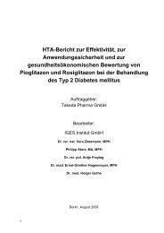 Health Technology Assessment (HTA) - DIMDI