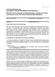 Patientenverfügung mit Vorsorgevollmacht - Hans-Peter Meuser