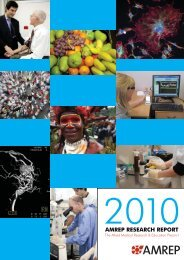 AMREP Research Report 2010 - Alfred Hospital