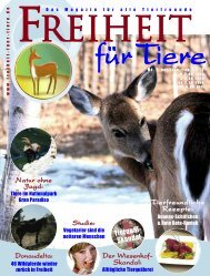 pdf-download: Gesamte Ausgabe - Freiheit für Tiere