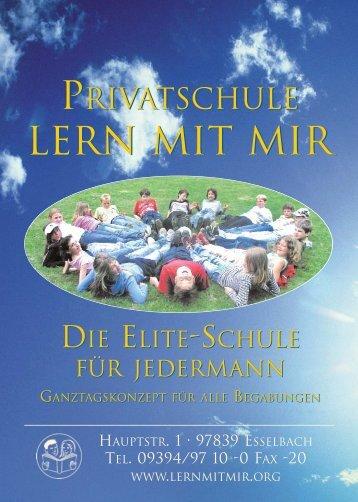 Schulprospekt. pdf - Privatschule »LERN MIT MIR