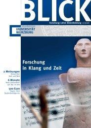 Blick Titel O.K. - OPUS - Universität Würzburg