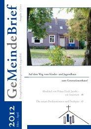 März – April 2012 - Evangelische Kirchengemeinde Langenfeld