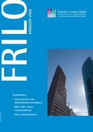 magazin 2006 fril - Nemetschek Frilo