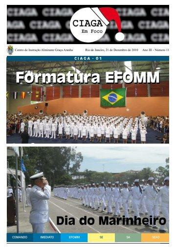 Formatura EFOMM - Marinha do Brasil