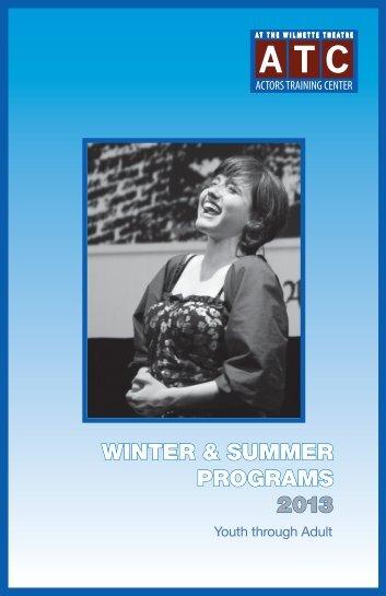 winter classes 2013 - Wilmette Theatre