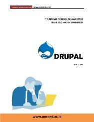 DRUPAL - Unsoed