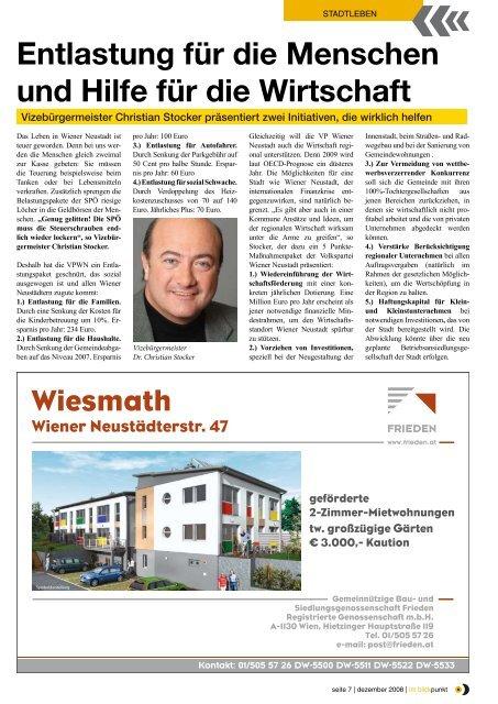 im blickpunkt - Volkspartei Wiener Neustadt - Volkspartei ...