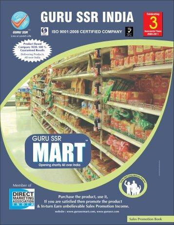 New Business Handbook.cdr - Guru SSR India Distributors Pvt. Ltd.