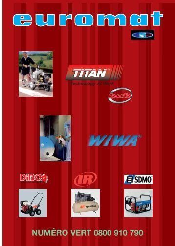 le catalogue Airless Titan Speeflo