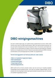 DIBO reinigingsmachines - Horticoop