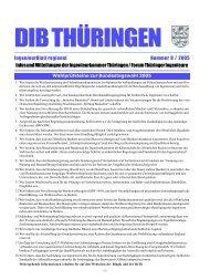 DIB THÜRINGEN - Ingenieurkammer Thüringen