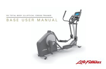 life fitness x5i elliptical manual