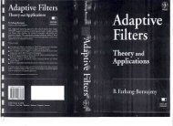 Adaptive Filters - Kxcad.net