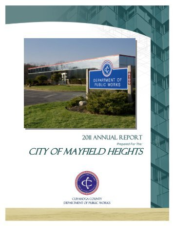 2011 - Cuyahoga County Department of Public Works
