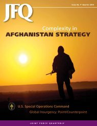 AFghANIsTAN sTRATEgY - National Defense University