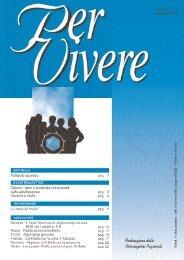 Anno 6 - Nr. 2 Dicembre - alternative per vivere