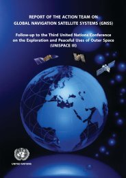 report of the action team on global navigation satellite systems (gnss)